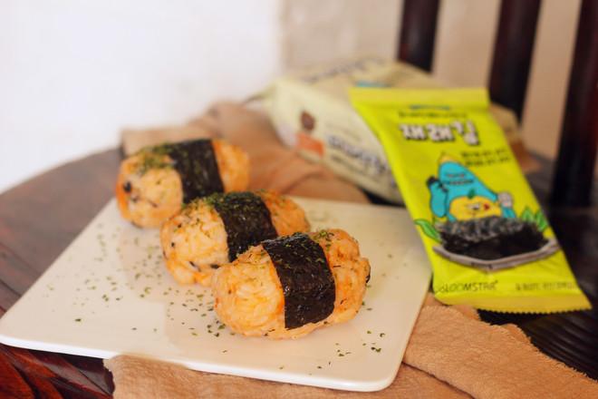 海苔饭团怎么煮