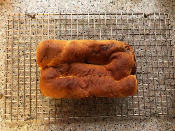 巧克力核桃面包的做法大全