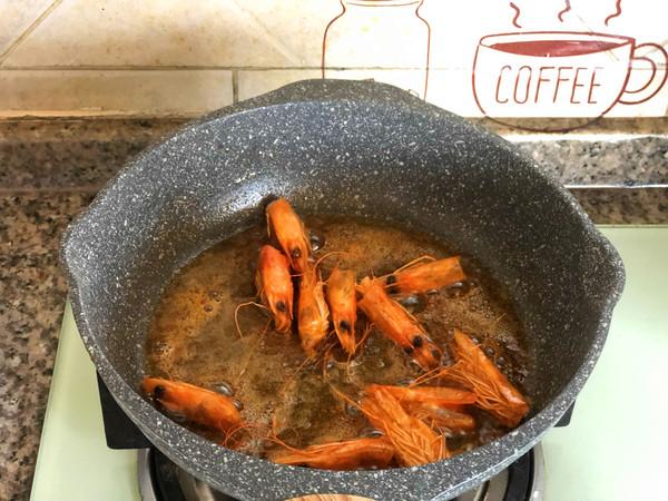 鲜虾意面怎么煮