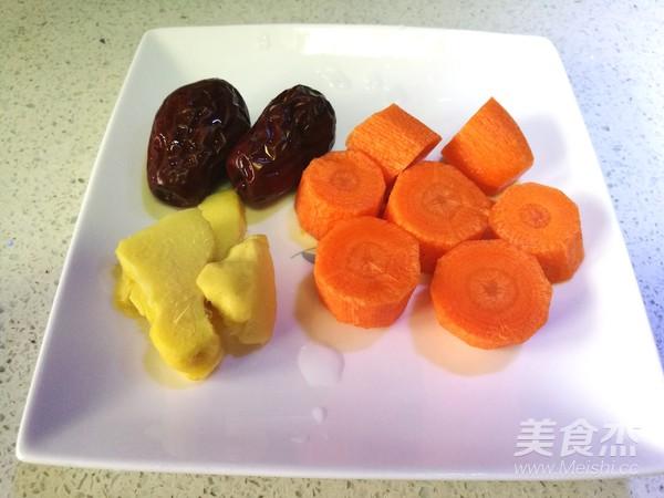 胡萝卜海带排骨汤的家常做法