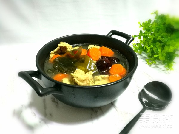 胡萝卜海带排骨汤怎么炖