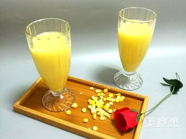 香甜玉米汁怎么做