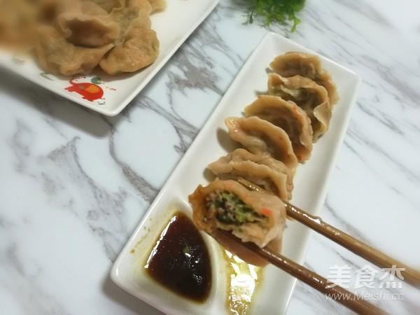 胡萝卜牛肉饺子的制作方法