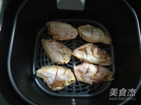空气炸锅烤鸡翅怎么炒