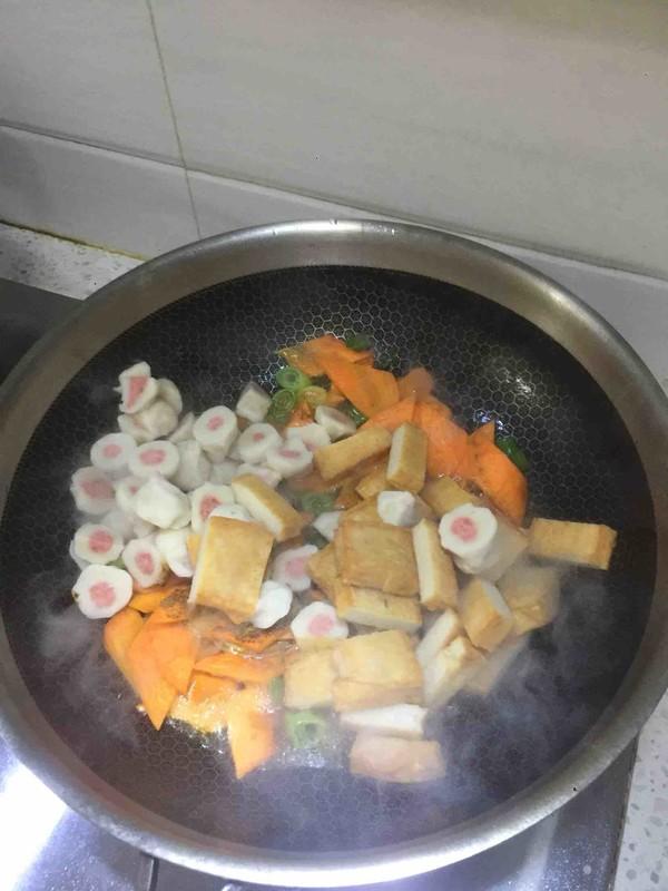 西兰花小丸子大杂烩怎么吃