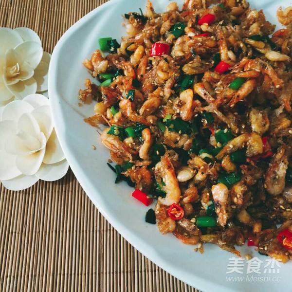 辣炒河虾怎么做