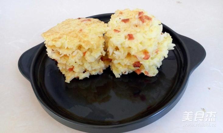 火腿鸡蛋米饼怎么做