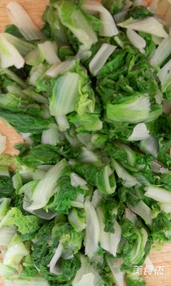 小白菜鲜肉馄饨的家常做法