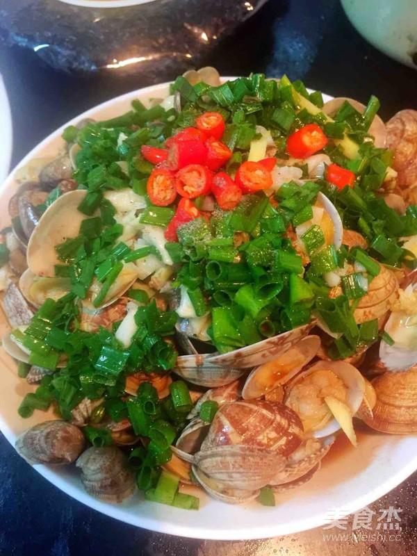 葱油花蛤怎么吃