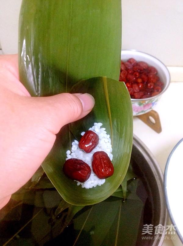 天津糯米粽子的简单做法