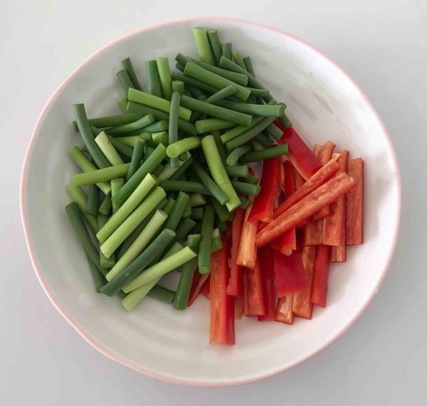 蒜苔(苗)炒腊肉的做法图解