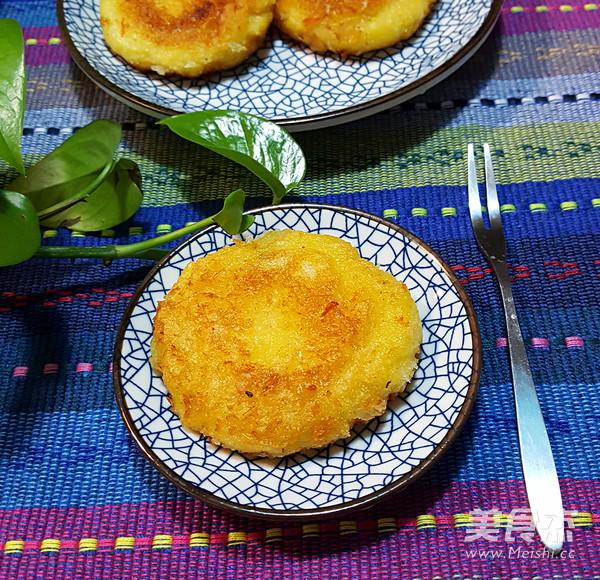 南瓜饼成品图