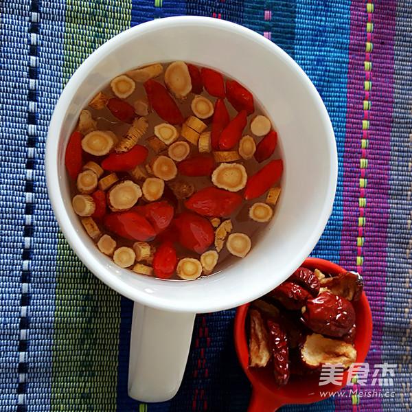黄芪红枣枸杞茶的做法图解