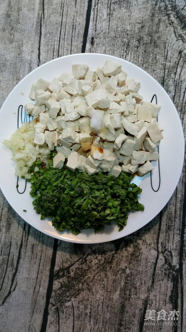 香椿芽拌豆腐怎么煮