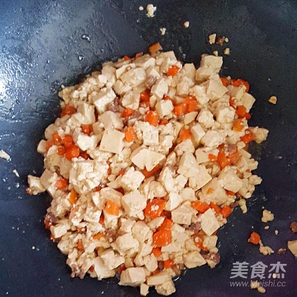 鸡刨豆腐的步骤