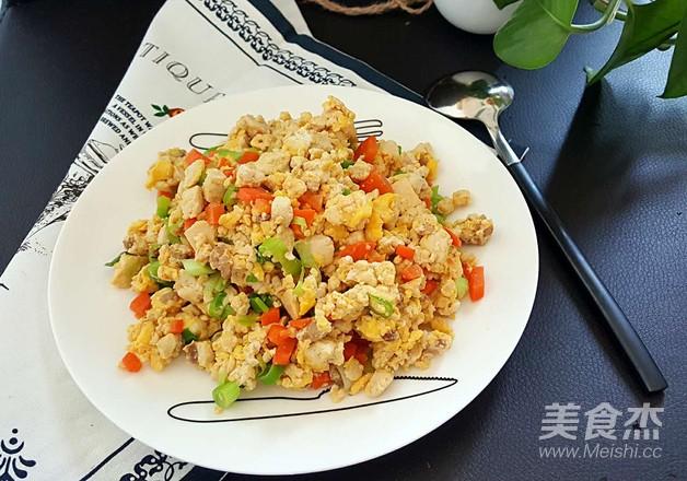 鸡刨豆腐怎样做