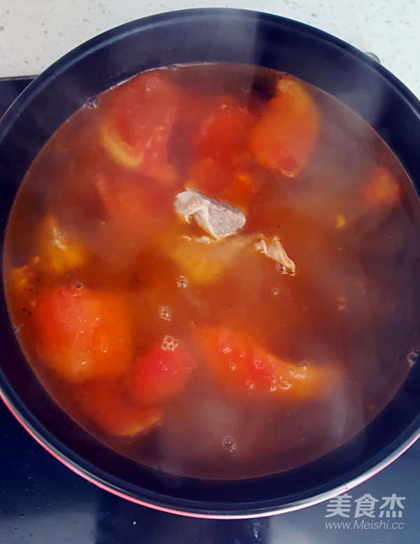 西红柿炖牛肉怎样做