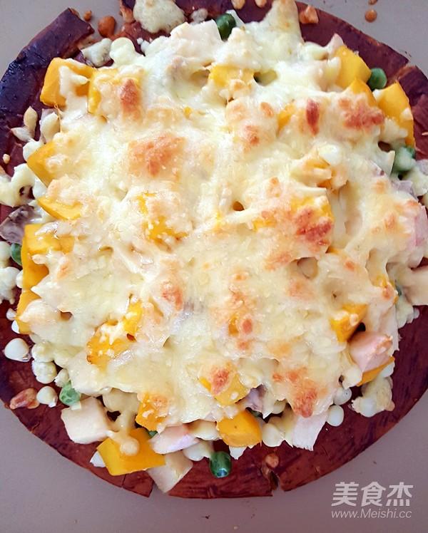 果蔬披萨怎么煸
