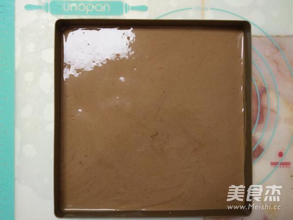 双色巧克力慕斯蛋糕怎样煸