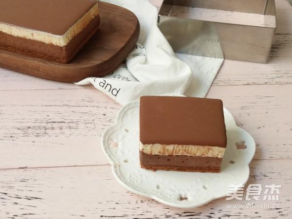双色巧克力慕斯蛋糕的做法大全