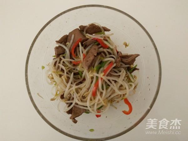 绿豆芽拌猪肝怎么煮