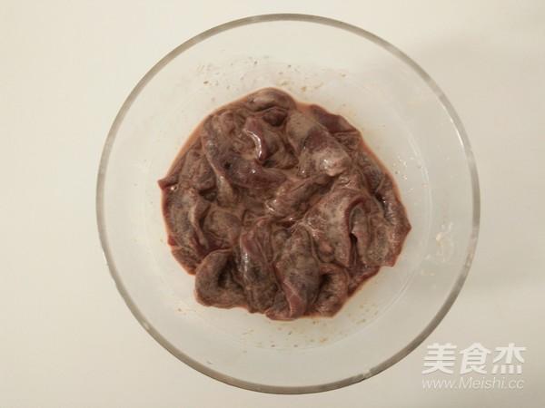 猪肝炒洋葱的家常做法