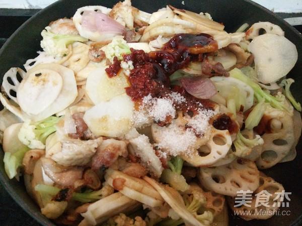 干锅五花肉的制作