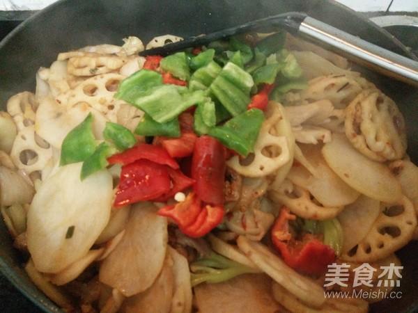 干锅五花肉的制作方法