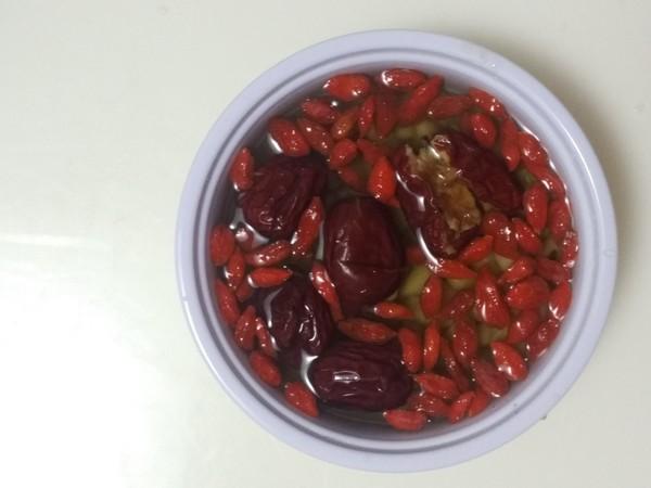 红枣枸杞豆浆的家常做法