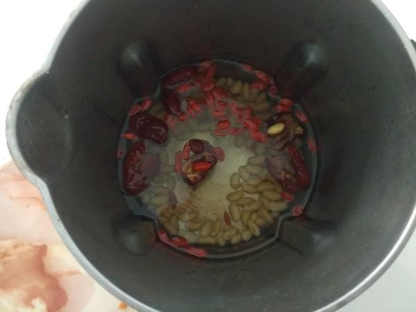 红枣枸杞豆浆怎么吃