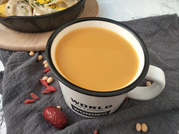 红枣枸杞豆浆怎么炒