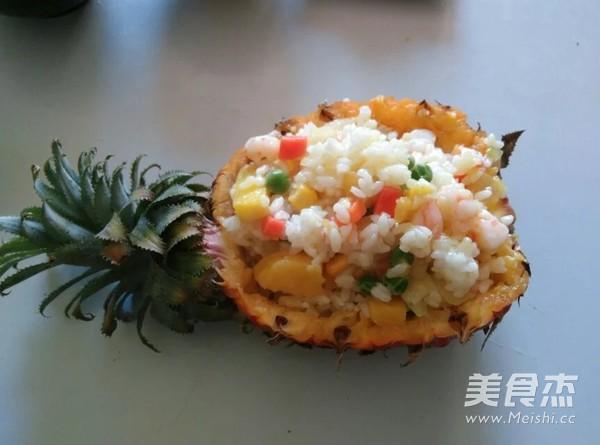 菠萝焗饭怎么吃
