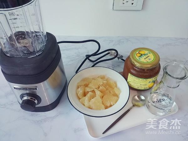 柚子蜂蜜汁的做法大全