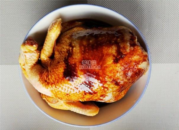 豉油鸡的做法图解