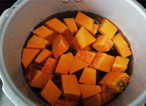 南瓜绿豆汤的做法图解