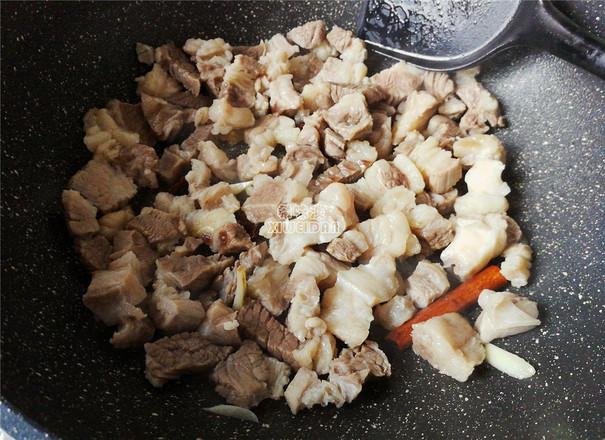 萝卜炖牛腩的家常做法