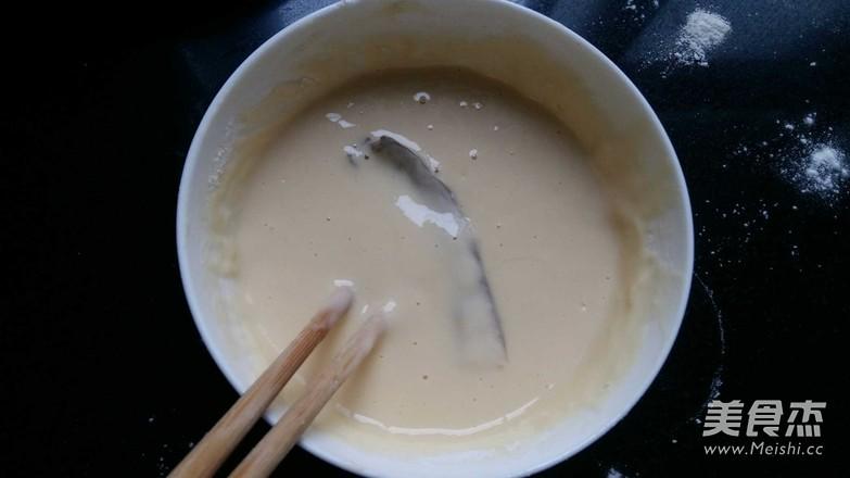 炸蘑菇的家常做法