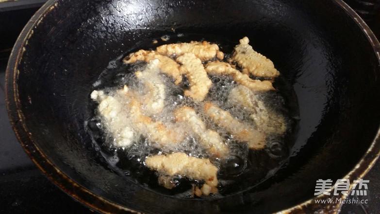 炸蘑菇怎么吃