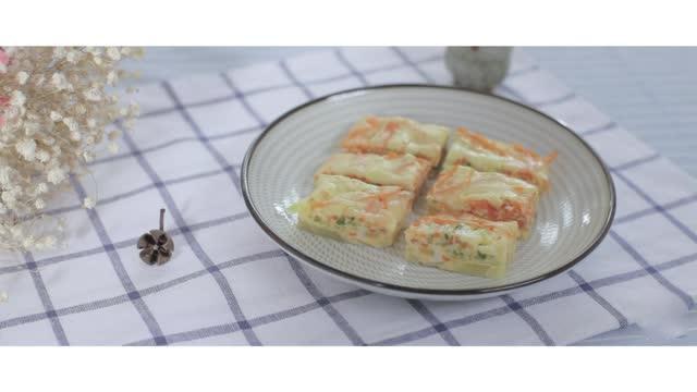 兰雀牛奶▕ 芝士牛奶鸡蛋饼怎么炒