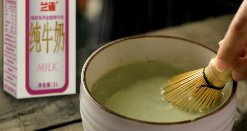 软绵绵的低卡抹茶奶提的做法图解