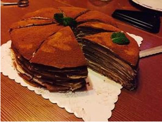 巧克力千层蛋糕的做法大全