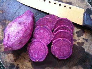 紫薯牛奶桂花羹的做法图解