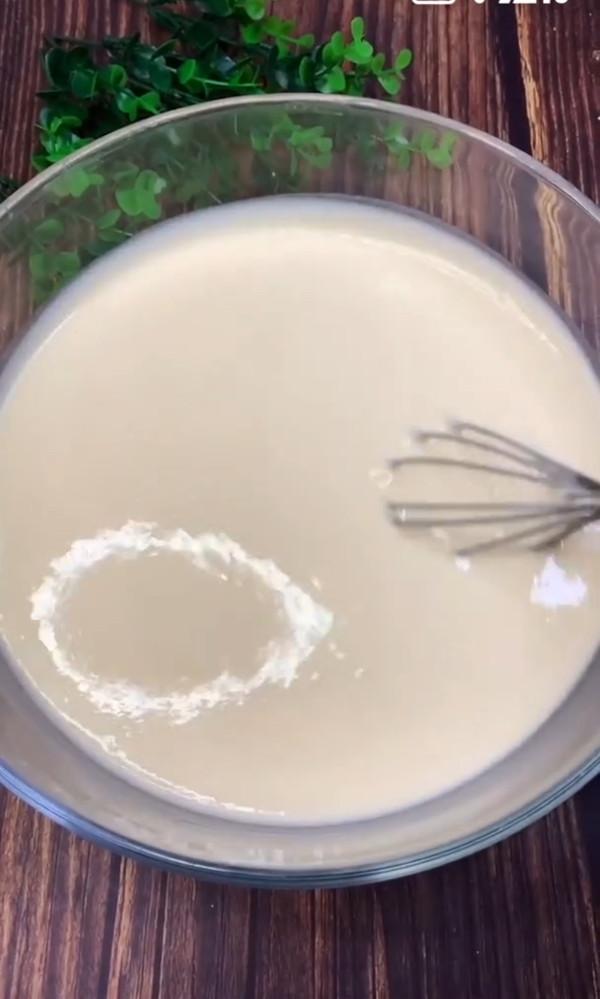 香浓牛奶鸡蛋饼的简单做法