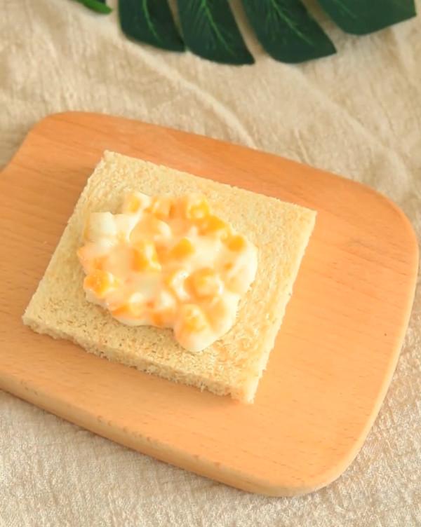 低脂爆浆芒果酸奶土司的简单做法