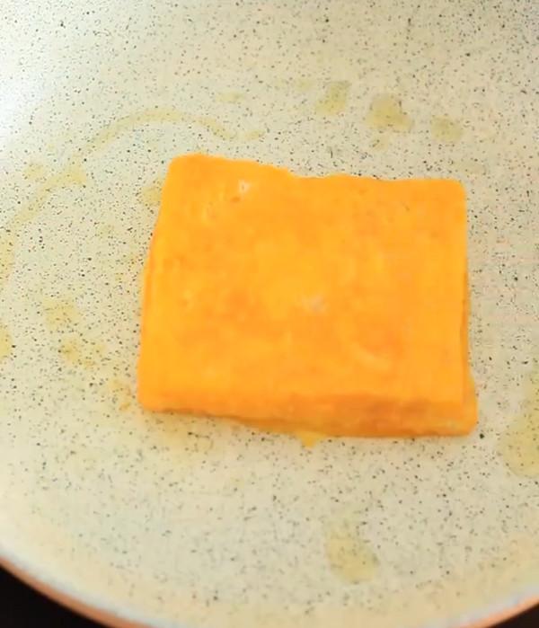 低脂爆浆芒果酸奶土司怎么做