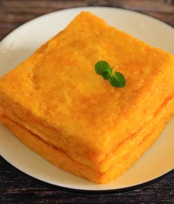 低脂爆浆芒果酸奶土司怎么炒