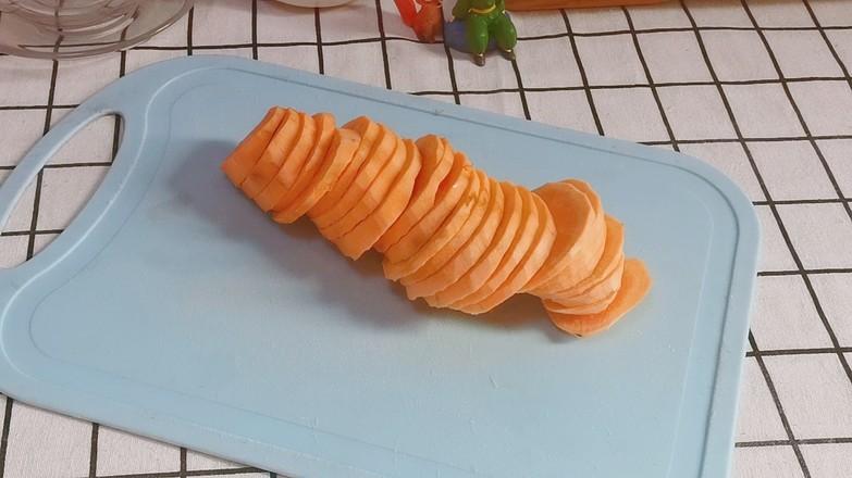 低脂红薯糯米球的做法图解