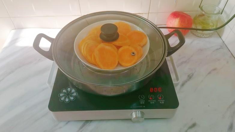 低脂红薯糯米球的家常做法