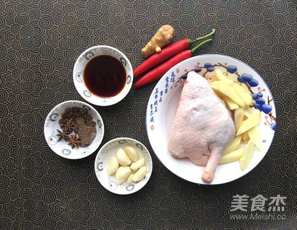 子姜焖鸭的做法大全
