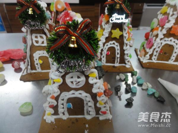 圣诞节红糖版姜饼屋怎样做